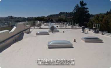 commercial roof repair alpharetta ga