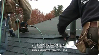residential roof repair alpharetta ga