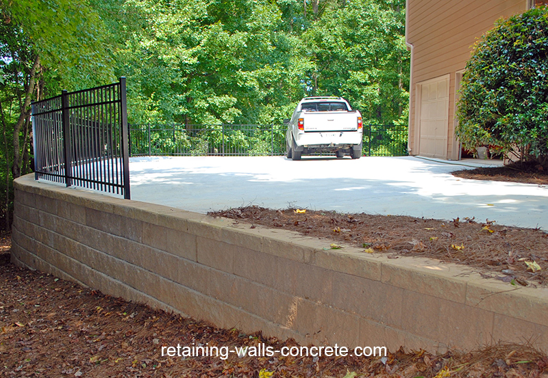 residential retaining walls kennesaw ga